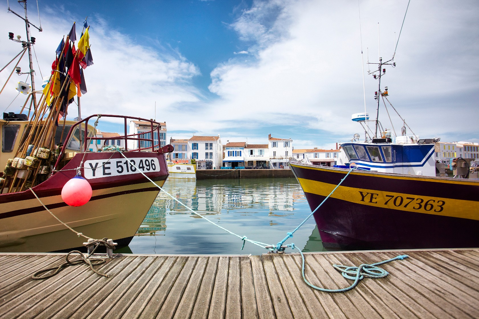 Vendee Expansion Yeu - Port de la Meule - Copyright A.Lamoureux